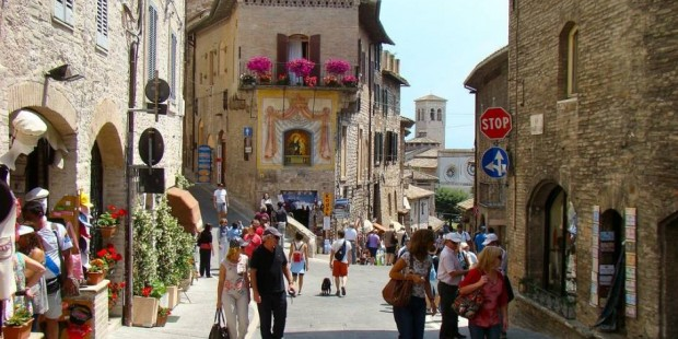 Travel To Italy - Assisi in Umbria.