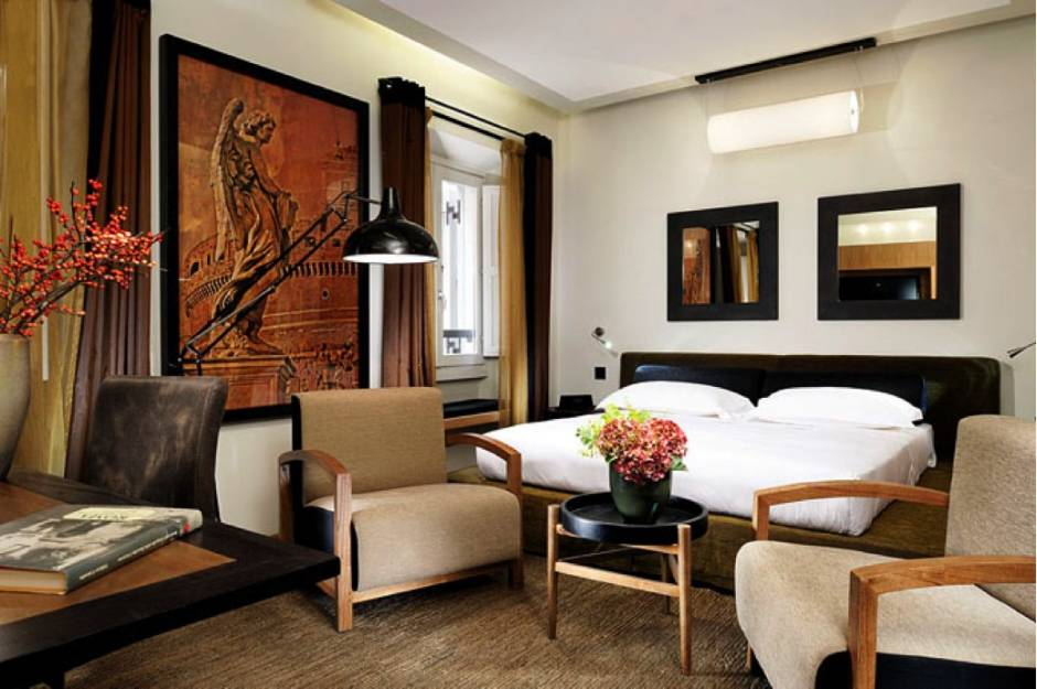 4 top boutique hotels in rome character in the eternal city for Great boutique hotels