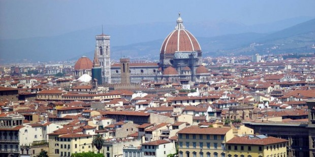 Florence Duomo - Archi Rossi free walking tour of Florence.