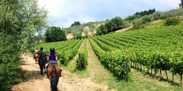 Holiday to Italy and try some outdoor activities like horseback riding in Chianti.