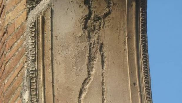 Pompeii Ruins - Pompeii motif.