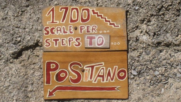 Travel To Italy For A Stairmaster Workout In Positano.