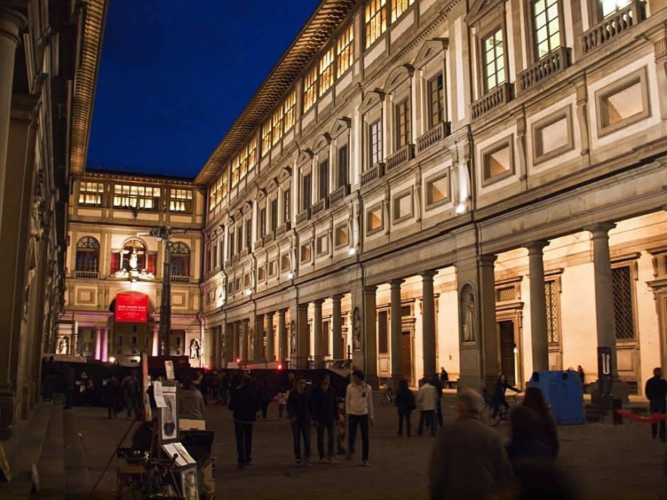 uffizi gallery florence  a quick visit is better than no visit
